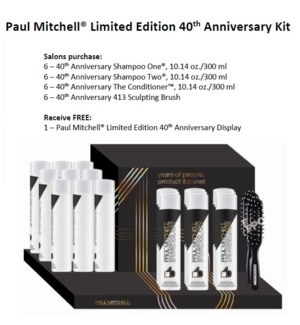 PM LIMITED EDITION 40TH ANNIVERSARY KIT  MA'20