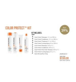 PM COLOR PROTECT SALON STARTER KIT(CCSLN17)//2019