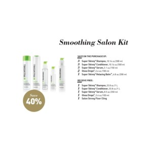 PM SMOOTHING SALON STARTER KIT(SMSLN16)//2019
