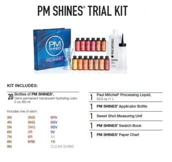 PM SHINES TRIAL KIT (PCSK15)//2018 - PREPACKED