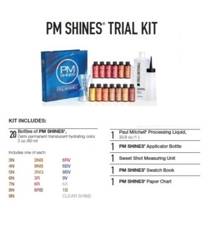 PM SHINES TRIAL KIT (PCSK15)//2019 - PREPACKED