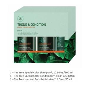 PM TEA TREE TINGLE & CONDITION COLOR INDULGENCE SET//MJ'19