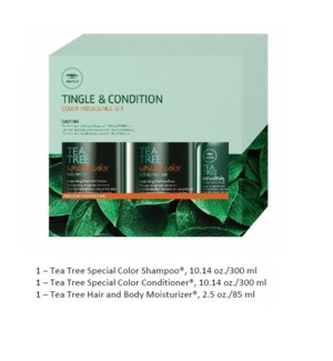 PM TEA TREE TINGLE & CONDITION COLOR INDULGENCE SET//MJ'19