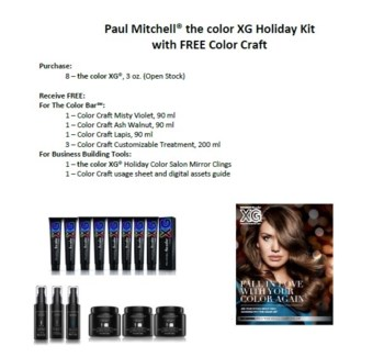 PM TC 8 XG COLORS HOLIDAY KIT W/ COLORCRAFT (PMTCXGPRM201)