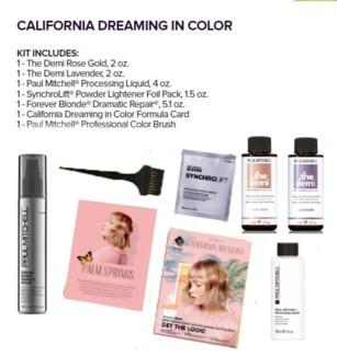 PM CALIFORNIA DREAMING IN COLOR KIT(LE)//MJ'19