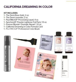 PM CALIFORNIA DREAMING IN COLOR KIT(LE)//MJ'19