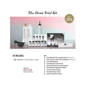PM THE DEMI TRIAL KIT//2019  (CHOOSE 24 THE DEMI)