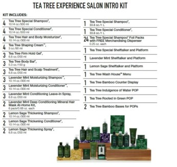 PM TEA TREE EXPERIENCE SALON INTRO KIT(TTESLN18)//2018