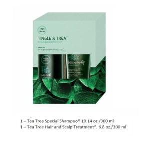 PM TEA TREE TINGLE & TREAT SCALP INDULGENCE SET//MJ'19