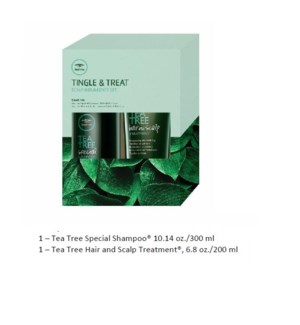 PM TEA TREE TINGLE & TREAT SCALP INDULGENCE SET//MJ'19