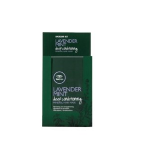 PM TT LAVENDER MINT DEEP CONDITIONING MINERAL MASK 10/PACK