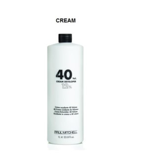 PM 40 VOL CREAM DEVELOPER LITRE