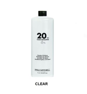 PM CLEAR LIQUID DEVELOPER 20 VOL - LITRE