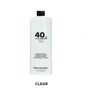 PM CLEAR LIQUID DEVELOPER 40 VOL - LITRE