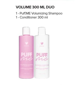 DM PUFF.ME VOLUMIZING SHAMP/COND DUO 300ML//MJ'19