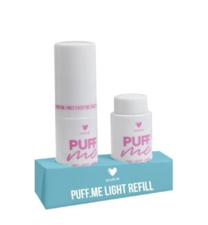 DM PUFF ME LIGHT VOLUME POWDER REFILL DUO//JF'19