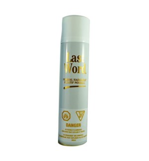 LAST WORD SPRAY NORMAL 400ML/WHITE CAN