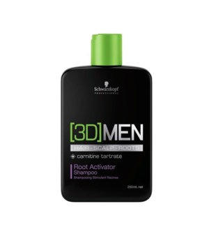 SC 3D MEN ROOT ACTIVATOR SHAMPOO 250ML