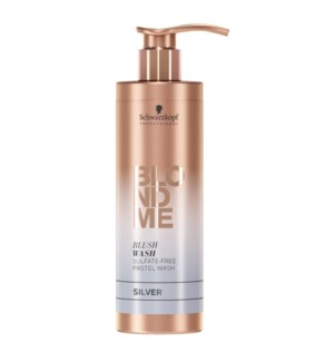 SC BLONDME  BLUSH WASH - SILVER 250ML