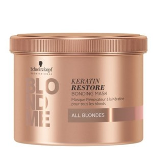 SC BM KERATIN RESTORE BONDING MASK (ALL BLONDES) 500ML