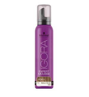 SC EXPERT MOUSSE 7-5 MEDIUM BLONDE GOLD