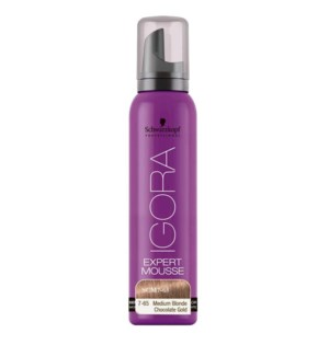 SC EXPERT MOUSSE 7-65 MEDIUM BLONDE CHOCOLATE GOLD