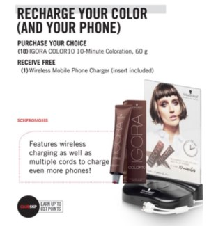 SC CT FREE WIRELESS CHARGER WITH PURCHASE OF 18 COLOR10
