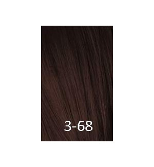 SC IR 3-68 DARK BROWN CHOCOLATE RED