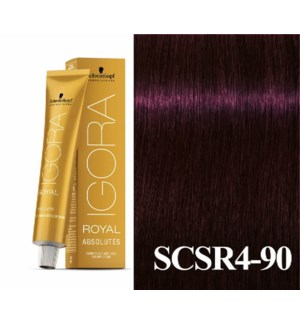 SC ABS 4-90 MEDIUM BROWN VIOLET NATURAL