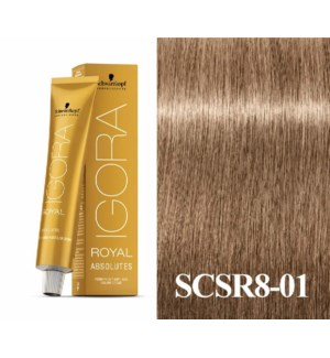 SC ABS 8-01 LIGHT BLONDE NATURAL CENDRE