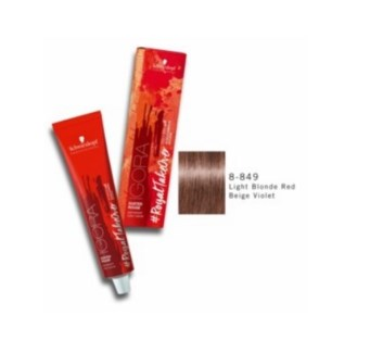 SC IR DR 8-849 LIGHT BLONDE RED BEIGE VOILET 60ML