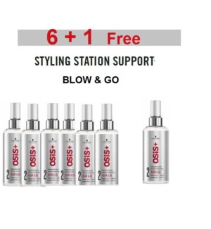 SC OS 6 + 1 BLOW & GO EXPRESS BLOW-DRY SPRAY 200ML