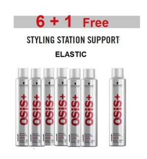 SC OSIS  6 + 1 ELASTIC FLEXI-HOLD SPRAY 300ML