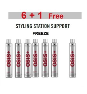 SC OS  6 + 1 FREEZE SUPER HOLD HAIRSPRAY 300ML