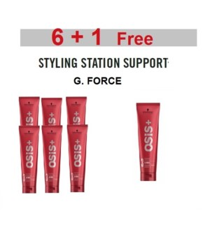 SC OSIS  6 + 1 G.FORCE STYLING GEL 150 ML