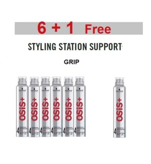 SC OSIS  6 + 1 GRIP EXTREME HOLD MOUSSE 200ML