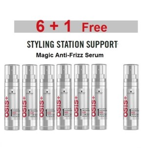 SC OSIS  6 + 1 MAGIC ANTI-FRIZZ SERUM 50ML