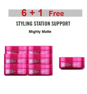 SC OSIS  6 + 1 MIGHTY MATTE ULTRA STRONG MATTE CREAM 85ML