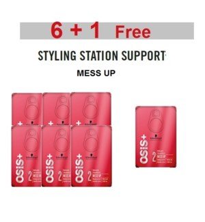 SC OSIS  6 + 1 MESS UP MATTE GUM 100ML