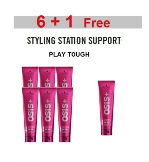 SC OSIS  6 + 1 PLAY TOUGH ULTRA STRONG WATERPROOF GEL  150ML