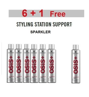SC OSIS  6 + 1 SPARKLER SHINE SPRAY 300ML