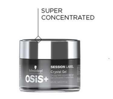 SC OS SESSION LABEL CRYSTAL GEL 65ML