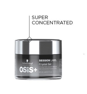 SC OSIS+ SESSION LABEL CRYSTAL GEL 65ML