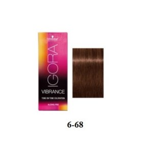 SC VIB 6-68 DARK BLONDE CHOCOLATE RED