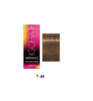 SC VIB 7-48 MEDIUM BLONDE BEIGE RED