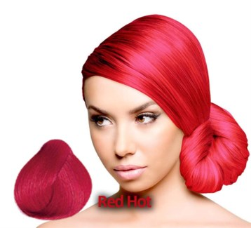 SPARKS RED HOT HAIR COLOR