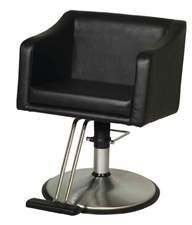 (17) BELVEDERE LOOK STYLING CHAIR - BLACK