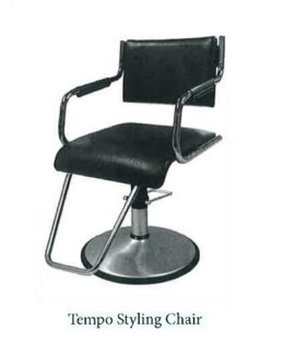(17) BELVEDERE TEMPO STYLING CHAIR