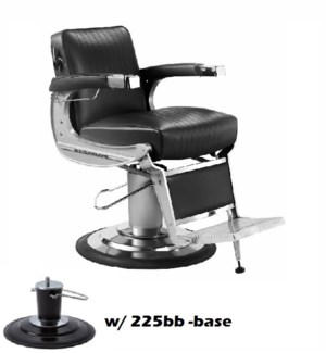 (18)TAKARA CLASSIC BARBER CHAIR (BB) BASE - HEADREST EXTRA