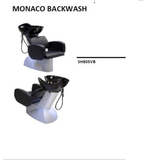 (18)TAKARA MONACO XL BACKWASH UNIT W/ BLACK BOWL